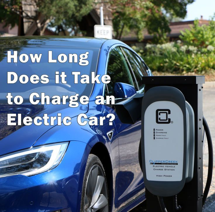 How long does it take to charge an electric car easy