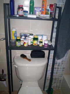 Lerberg Shelf Into Storage Over Toilet Unit Ikea Hackers