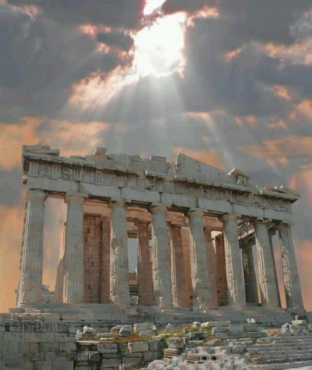 Acropolis, It's amazing, you can see it anywhere when walking around in Athens.