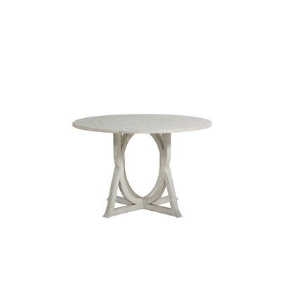 Gabby Kendleton Solid Wood Dining Table Dining Table Glass