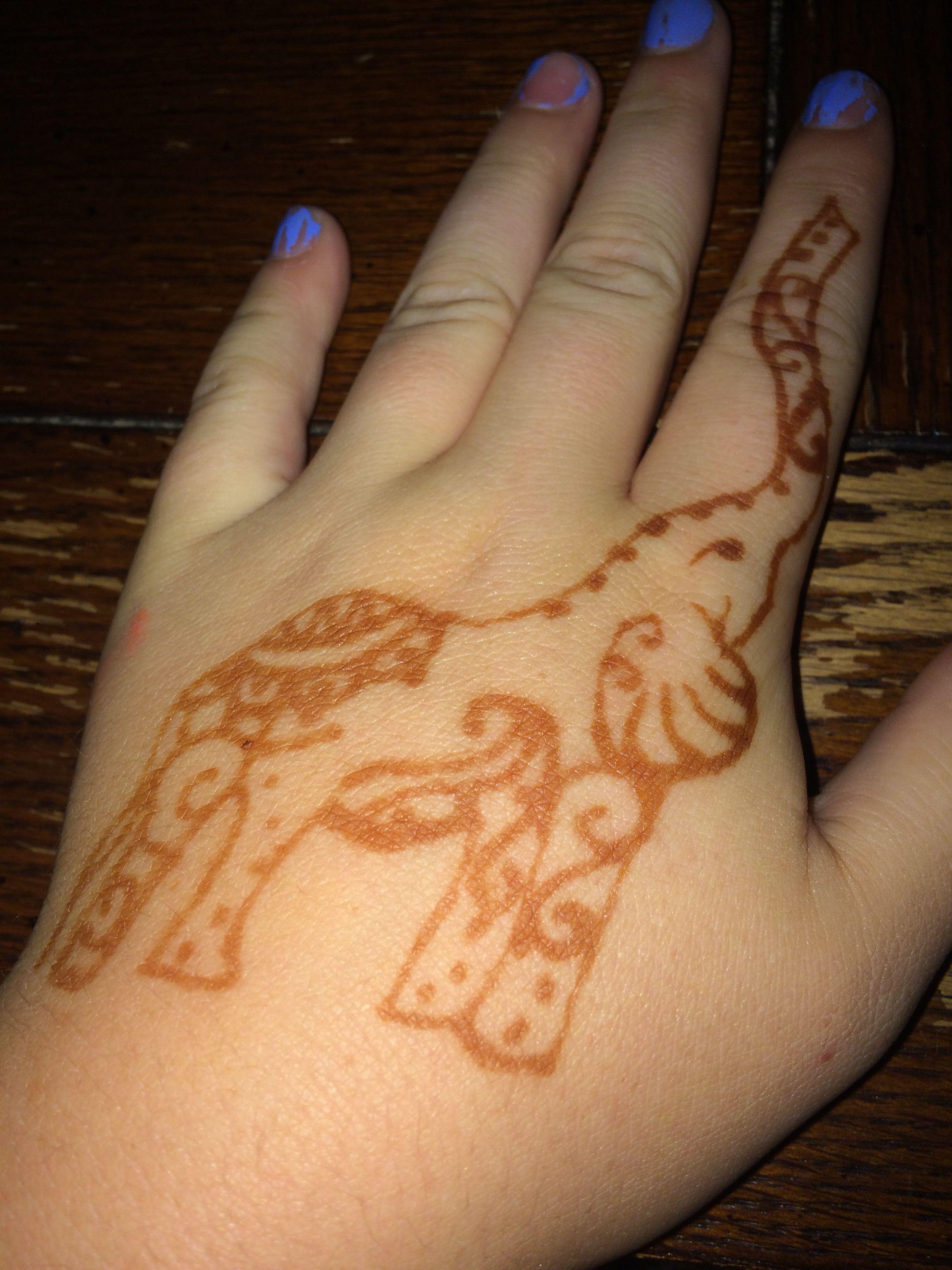 Cute Mehndi Tattoo : Cute henna tattoo last weeks ink hennas and