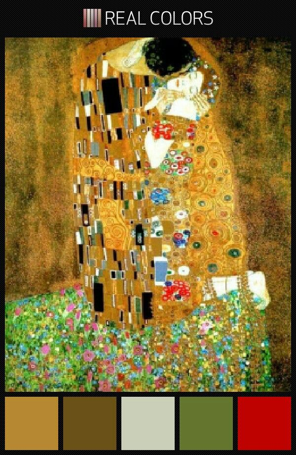 Color Palette Inspired By Klimt Klimt Art Gustav