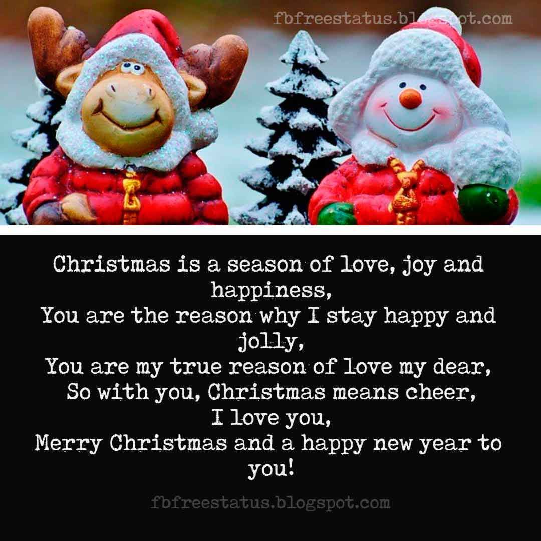 Merry Christmas Love Quotes and Christmas Love Messages, Images ...