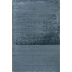 Photo of benuta Viskoseteppich Puro Blau 200×300 cm – Moderner Teppich für Wohnzimmer benuta