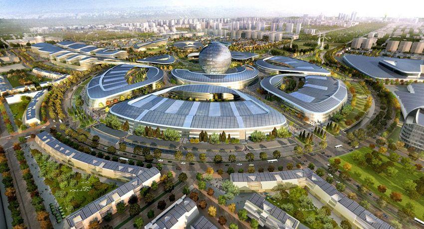 Resultado de imagen para desarrollo futurista en la tierra