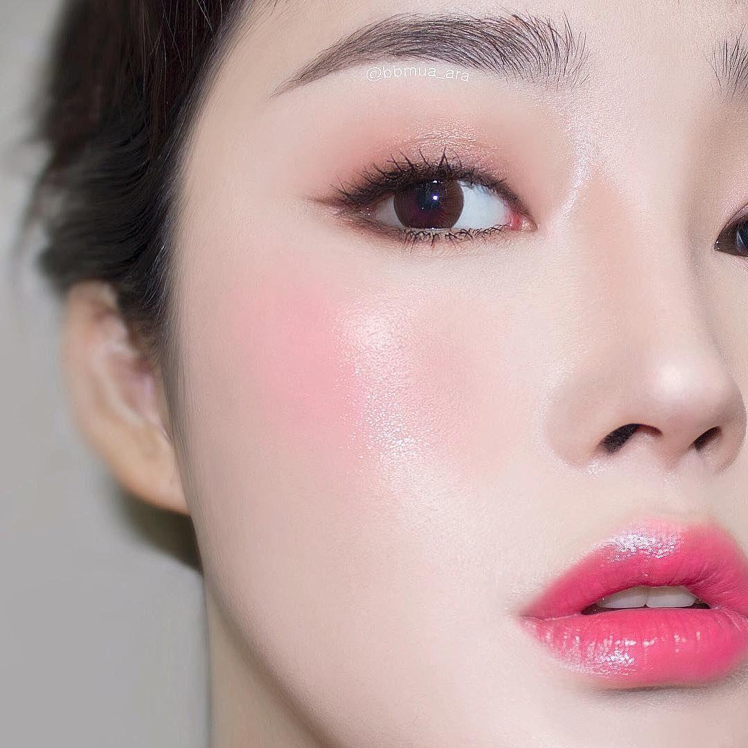 Korean Make Up Look Natural Look Evaryday Look Pin By Aki