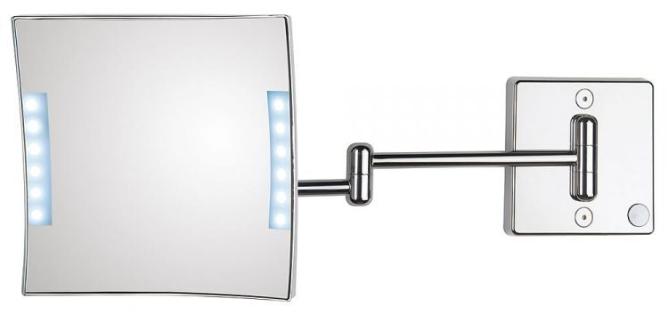 Koh I Noor Quadrolo Led Lighted 3x Makeup Mirror Double