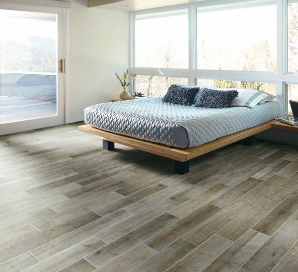 exceptional fliesen holzoptik schlafzimmer #1: Fliesen in Holzoptik - die moderne Alternative