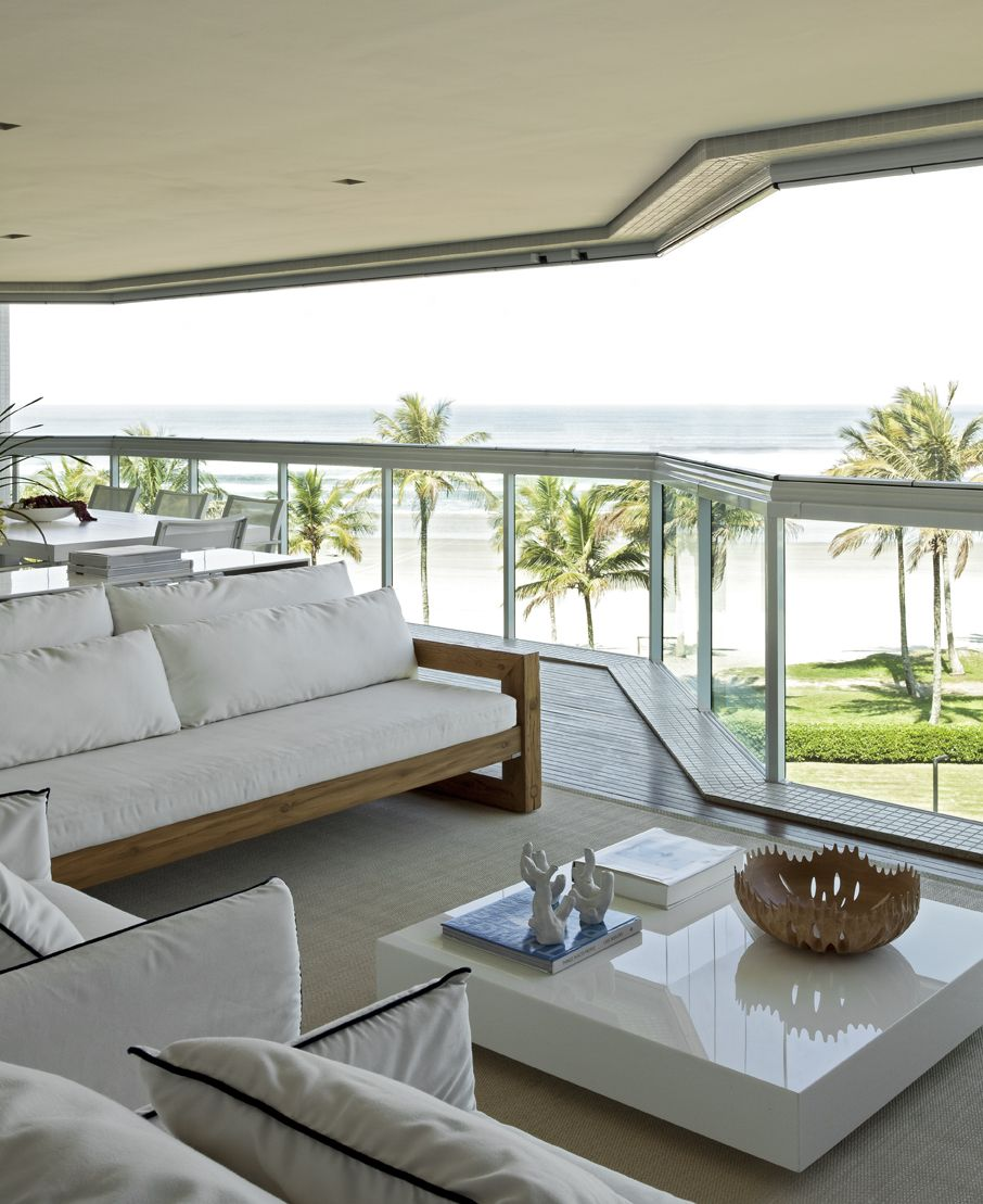 Beach Apartment By: Diego Revollo Arquitetura   (2) Architecture + ...