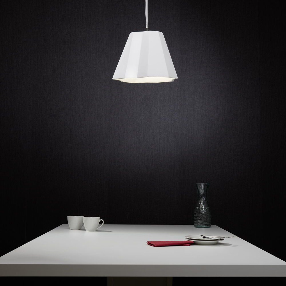 Famlights Gipspendelleuchte Maria In Weiss E27 Max 40w Famlights Cli 318556 Glasleuchten Pendelleuchte Deckenleuchten
