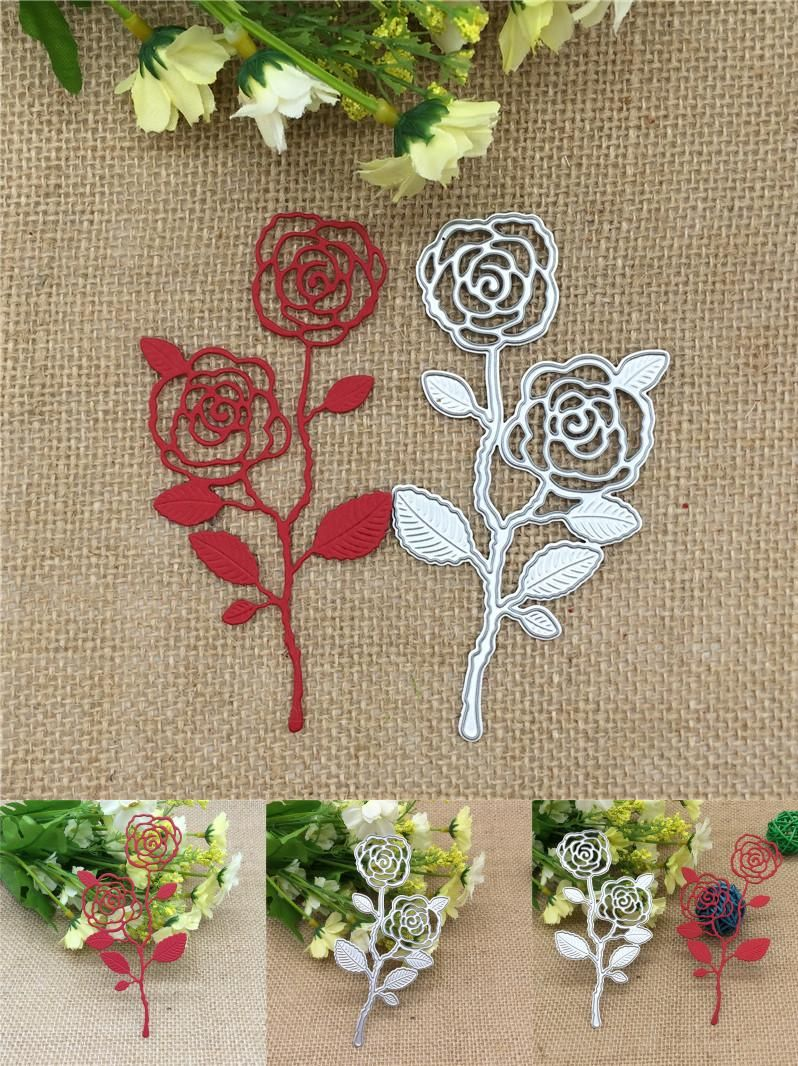 Visit To Buy British Style Rose Metal Cutting Dies Stencils Diy