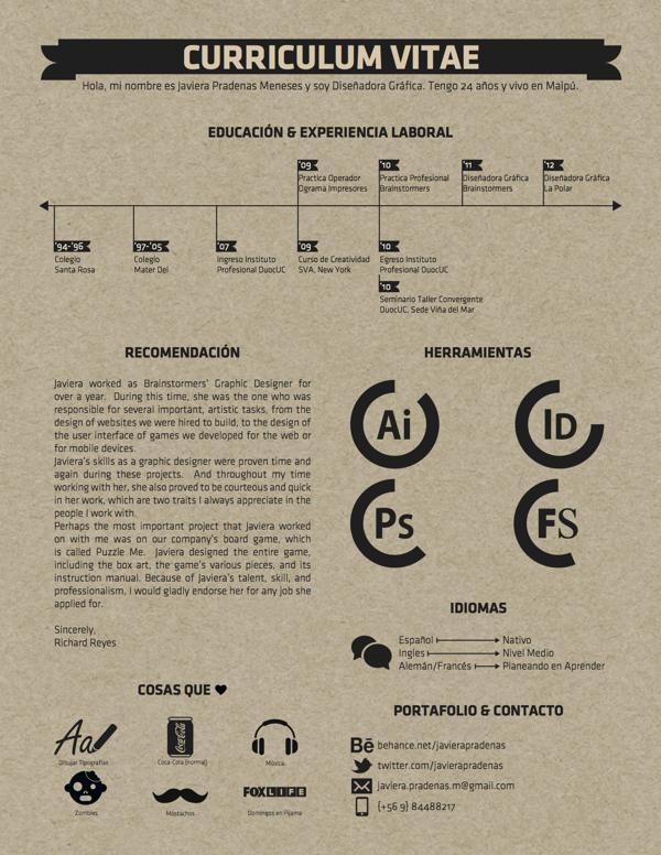5 páginas para crear un Curriculum Vitae profesional | Curriculum ...