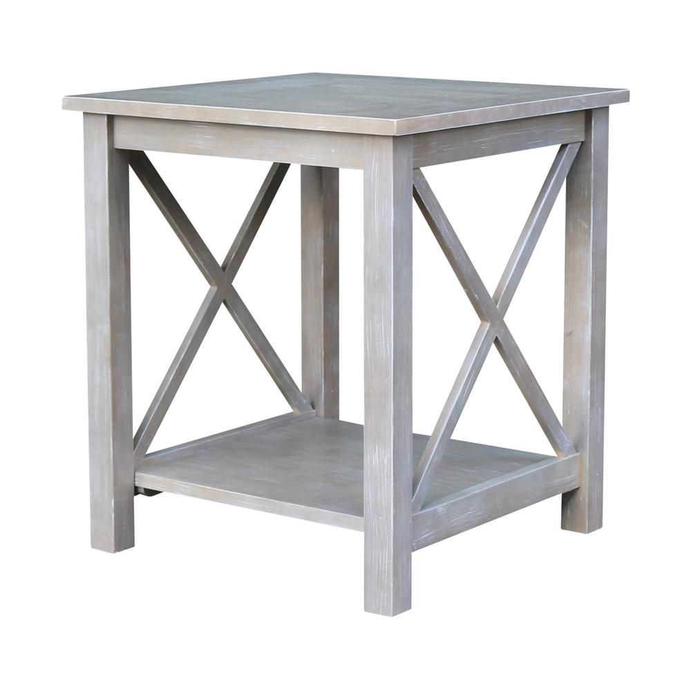 International Concepts Hampton Unfinished End Table Ot 70e End Tables Coffee Table Living Room End Tables