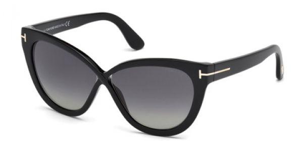 ee5fac8b8caad Sunglasses Tom Ford FT0511 ARABELLA Black Glitter 01D 59 11 Ray-Ban