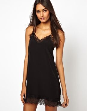b2925edf325 Oh My Love Cami Mini Dress with Eye Lash Lace