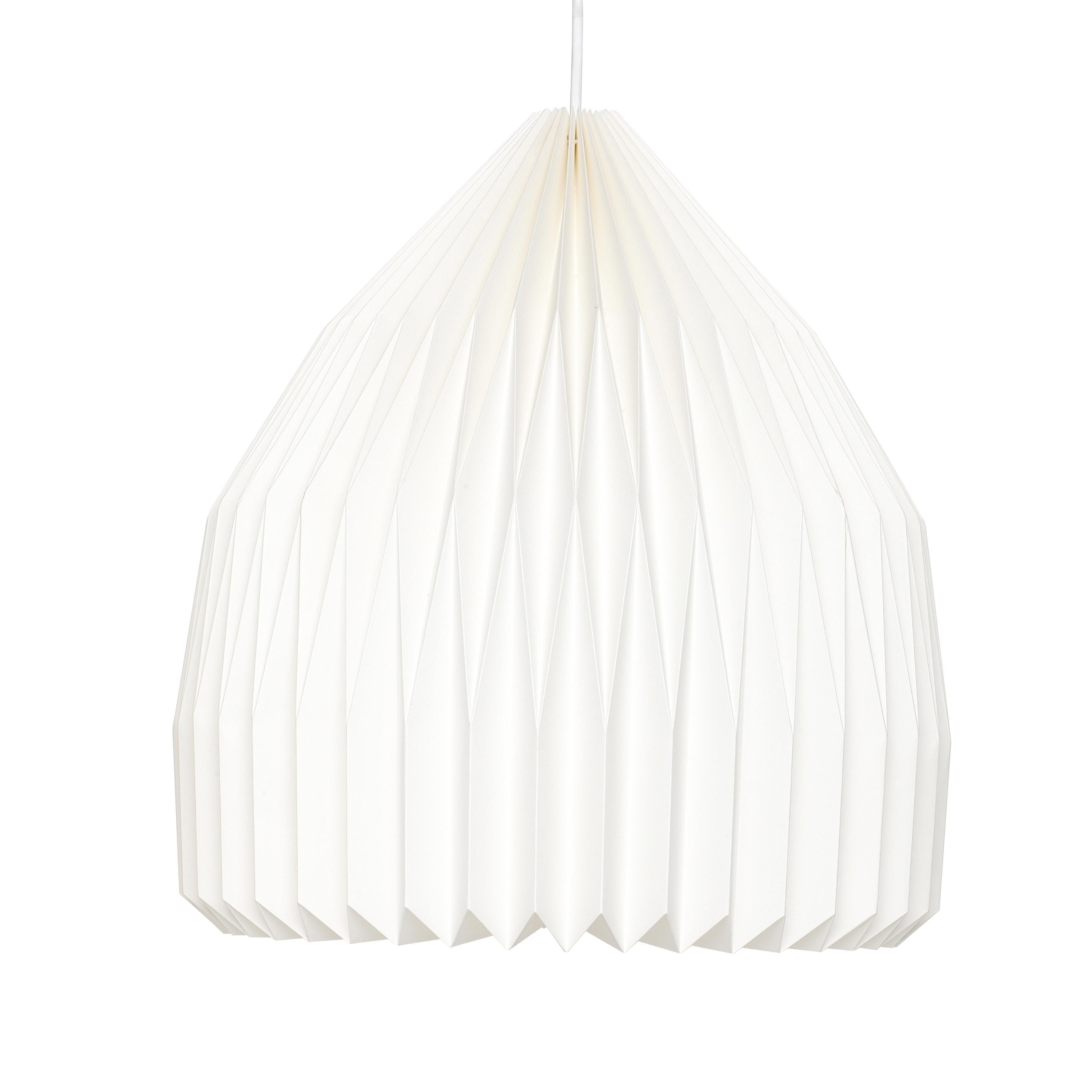 Contemporary White Paper Lampshades