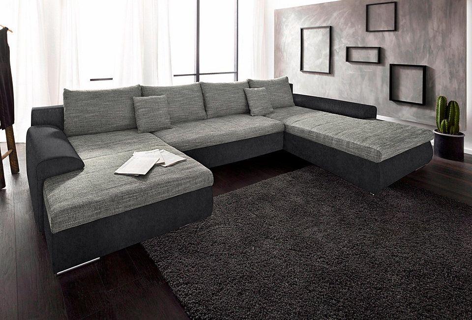 RAUMID Wohnlandschaft, wahlweise mit Bettfunktion Jetzt bestellen - wohnzimmer couch günstig