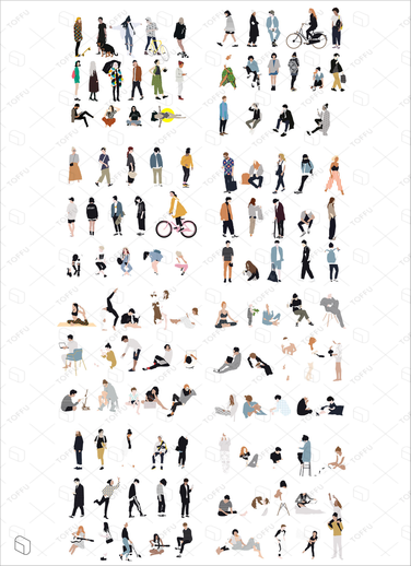 flat vector people illustration for architecture  interior design also rh pl pinterest