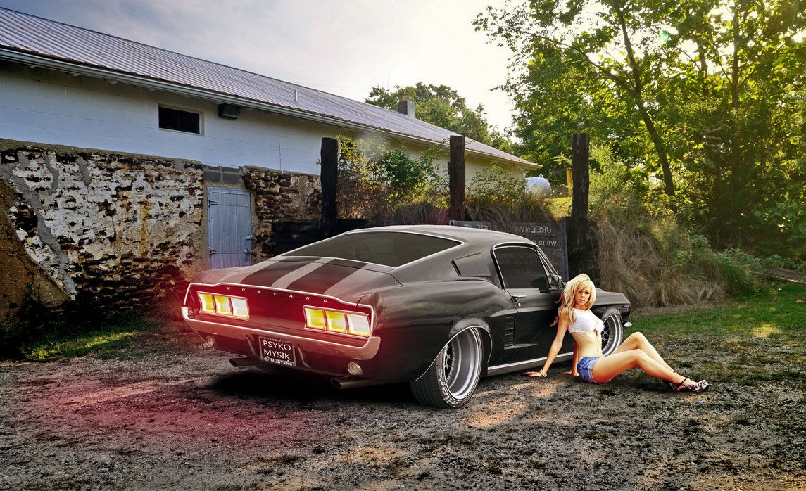 Ford Mustang 1967 Fastback stance by PsykoMysik by psykomysik