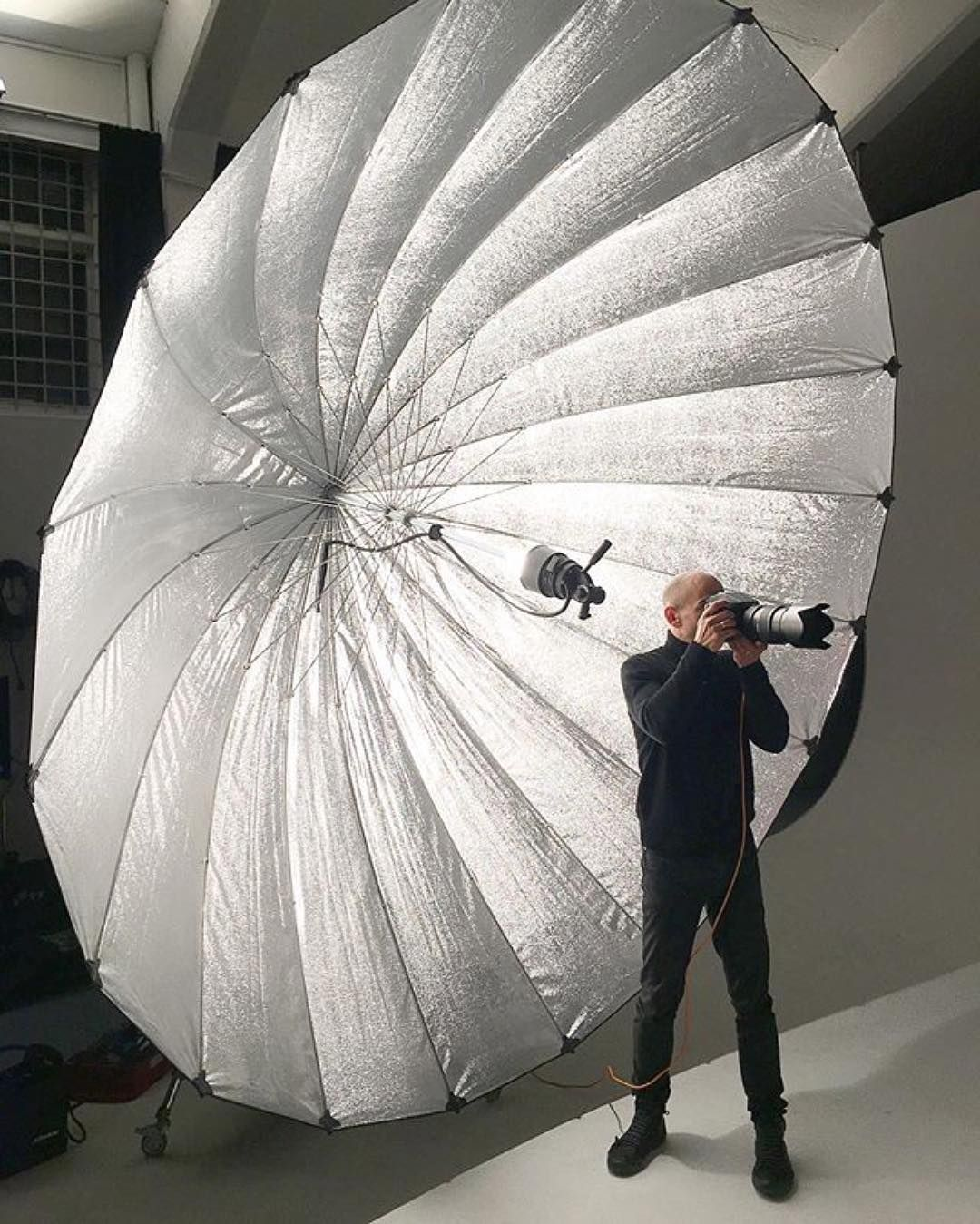 Wow - Check out the Profoto Giant Reflector 300 | Photo by @andreabelluso