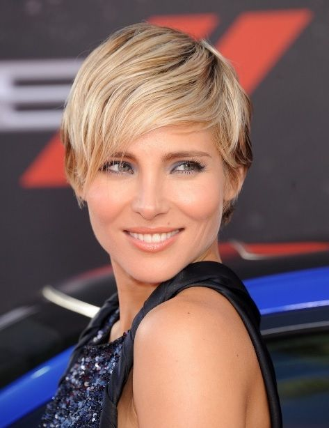 pixie with bangs haircut elsa pataky hair is on hair amp 4663