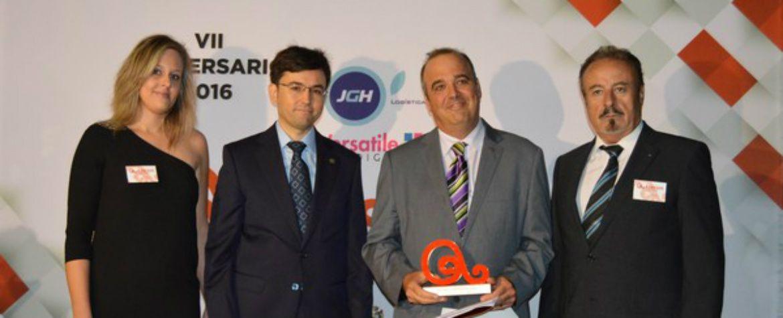 Premio al COIE de la Asociación de Empresarios y Comerciantes del Segura (Asecom) (05-10-2016)
