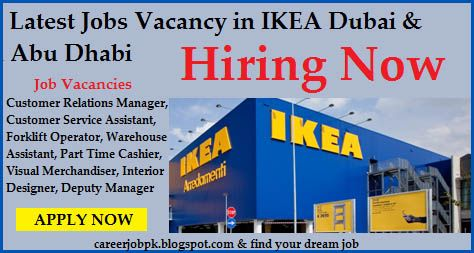Ikea Jobs In Dubai And Abu Dhabi Jobs Career Opportunities