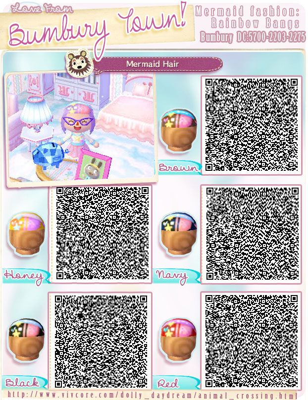 sailor moon animal crossing qr codes hair