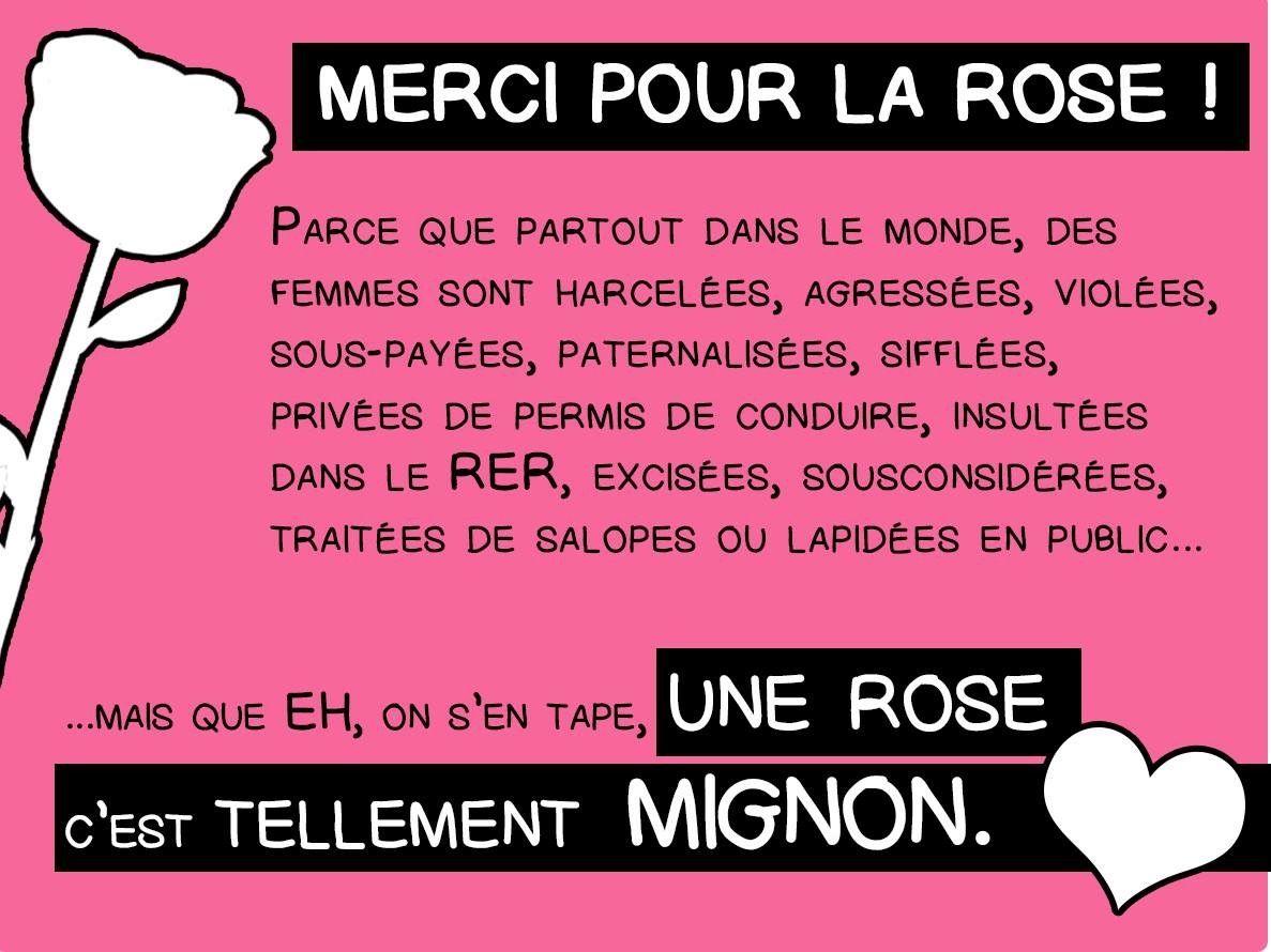 Le 8 mars c'est la journée INTERNATIONALE DES DROITS DES FEMMES. copyright @KlaireFaitGrr pour la carte.