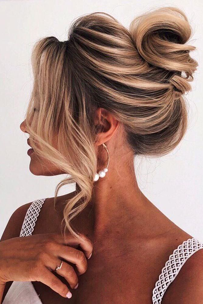 42 Chic Wedding Updos For Long Hair | Updos for medium ...