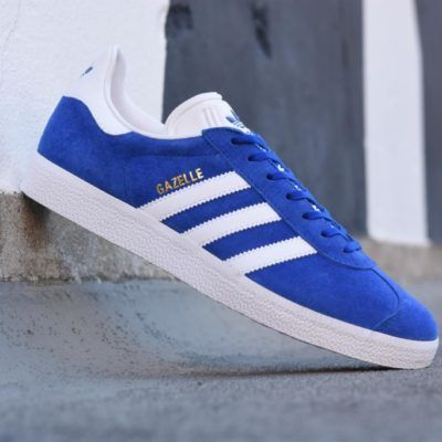 hot sale online 7565a 91b49 s76227 amorshoes-adidas-originals-gazelle-blue-azul-royal-s76227