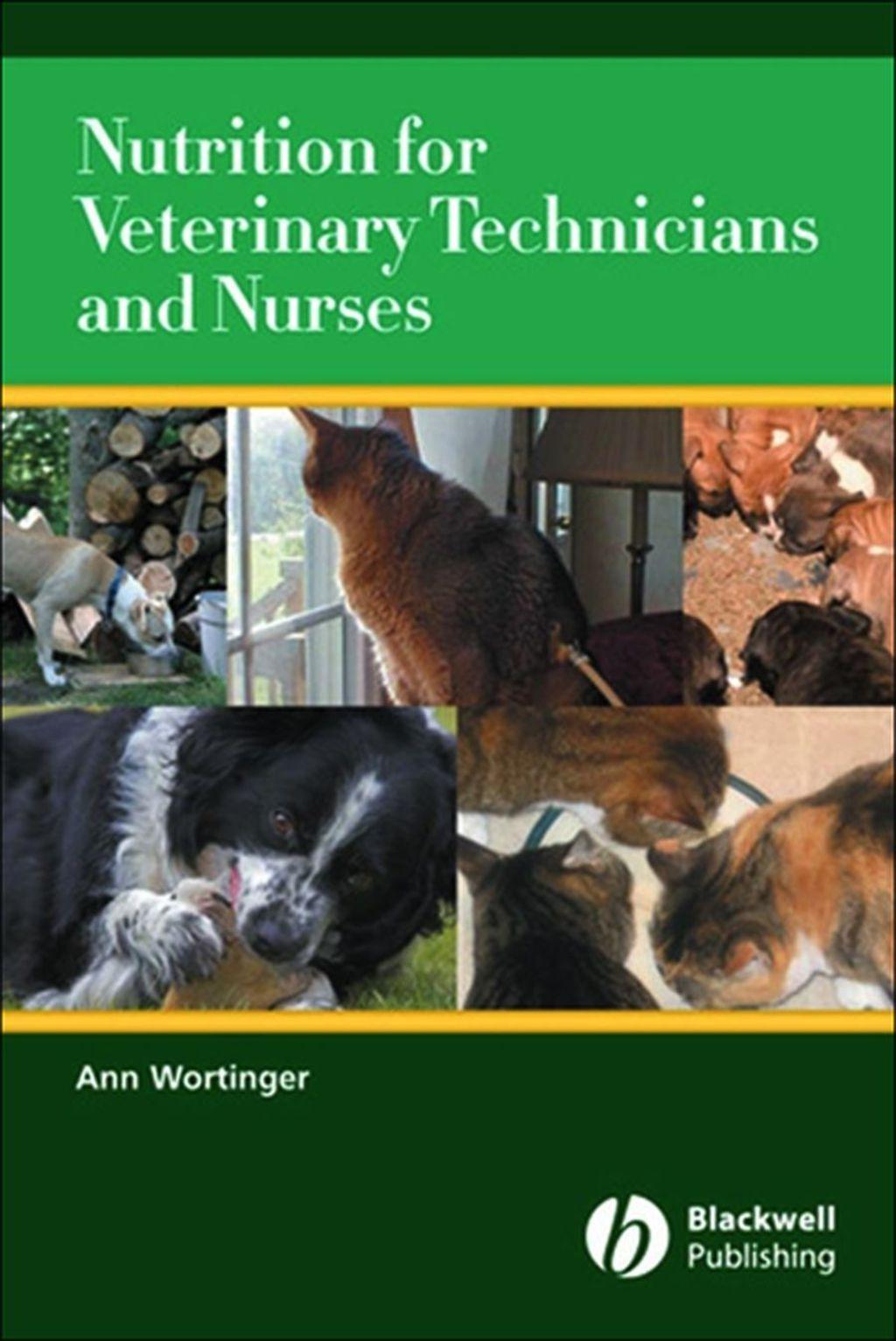 Nutrition for Veterinary Technicians and Nurses (eBook