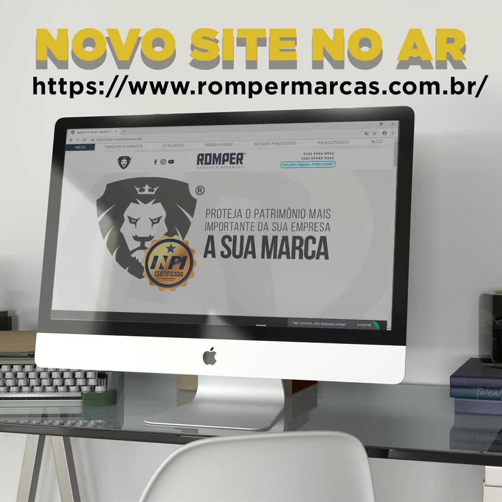 A ROMPER ACABA DE LANÇAR SEU MAIS NOVO SITE!    ➡️Material focado no regist...
