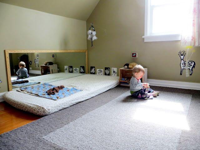 Emil und mathilda montessori f r babys die for Montessori kinderzimmer