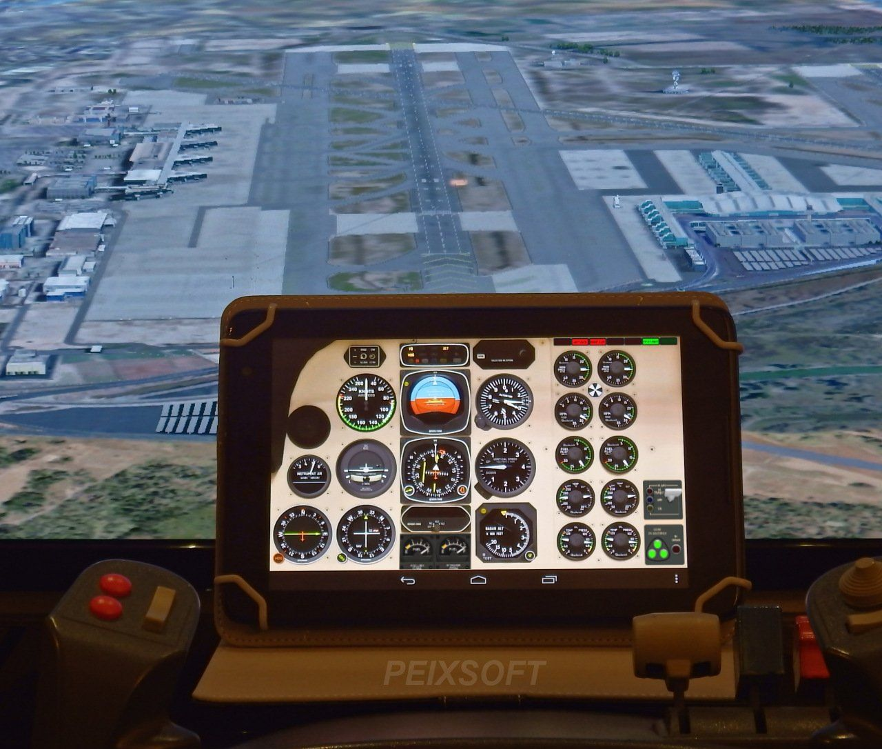 GA Panel for Android Flight simulator, Flight simulator