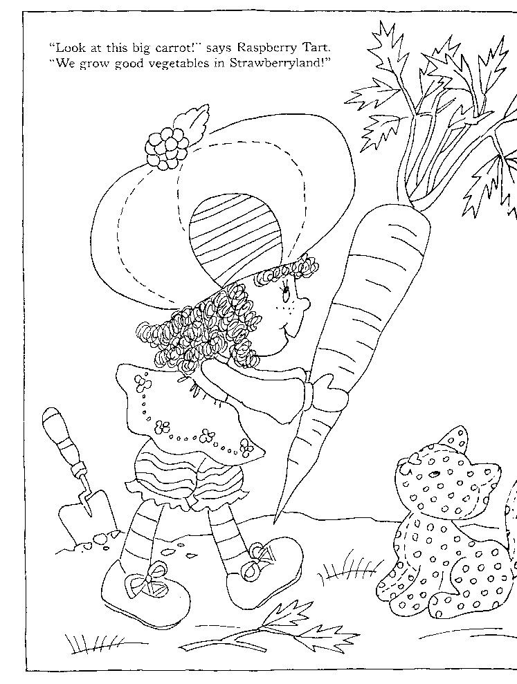 Strawberry Shortcake\'s Storybook to Colour   coloring   Rosas ...