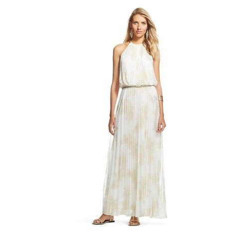 4827dd19442 Women s Trapeze Maxi Dress - Chiasso - Ivory Gold
