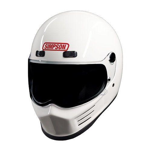 Simpson Street Bandit Helmet Motorcycle