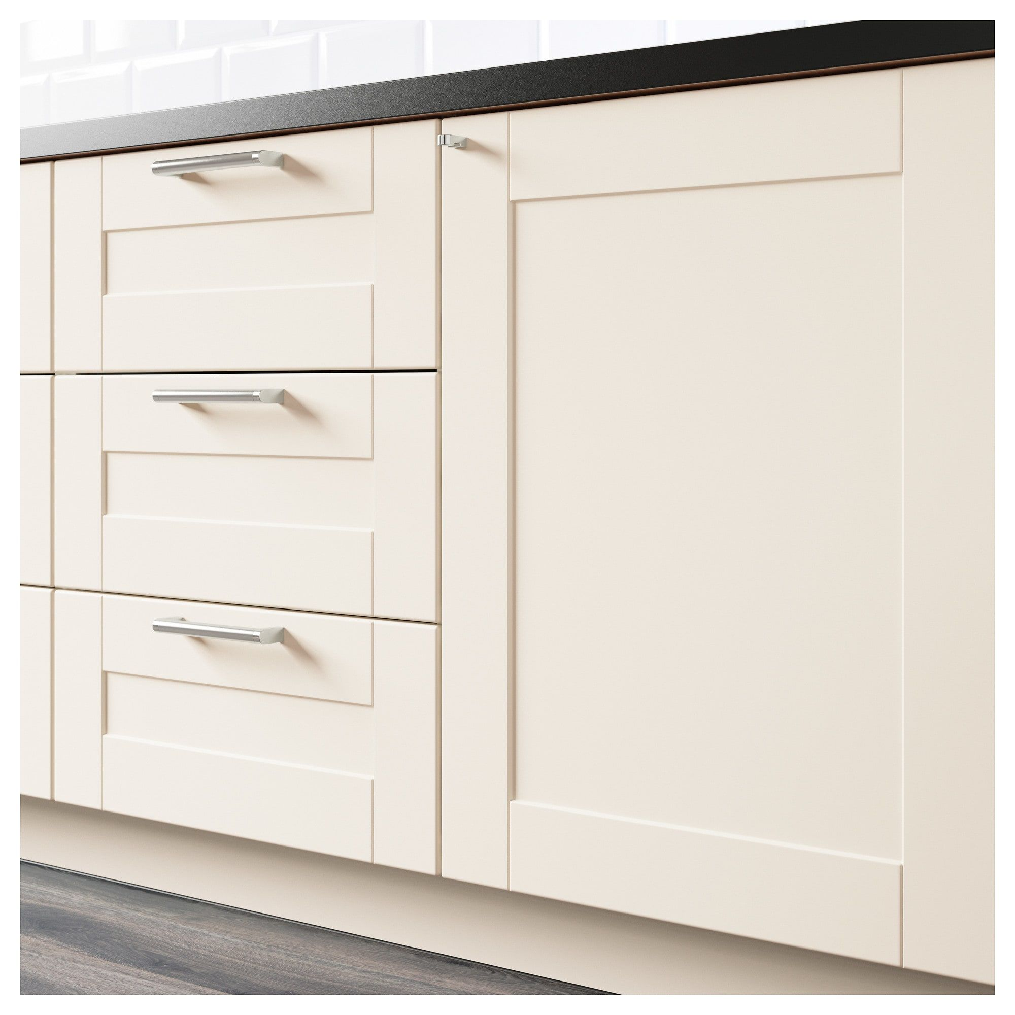 Best Ikea Grimslov Off White Drawer Front Base Cabinets Ikea 640 x 480