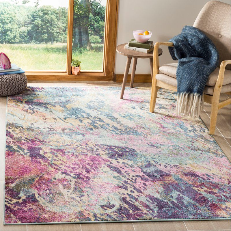 Mcintosh Blue Purple Gray Area Rug Purple Area Rugs Area Rugs