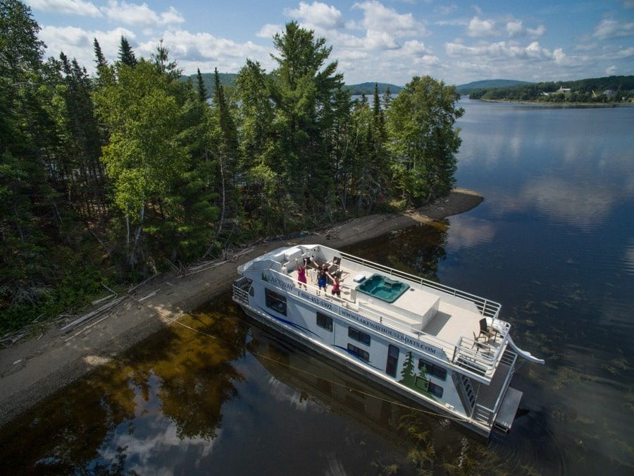 Forget The Road Trip Take A Houseboat Vacation Houseboat