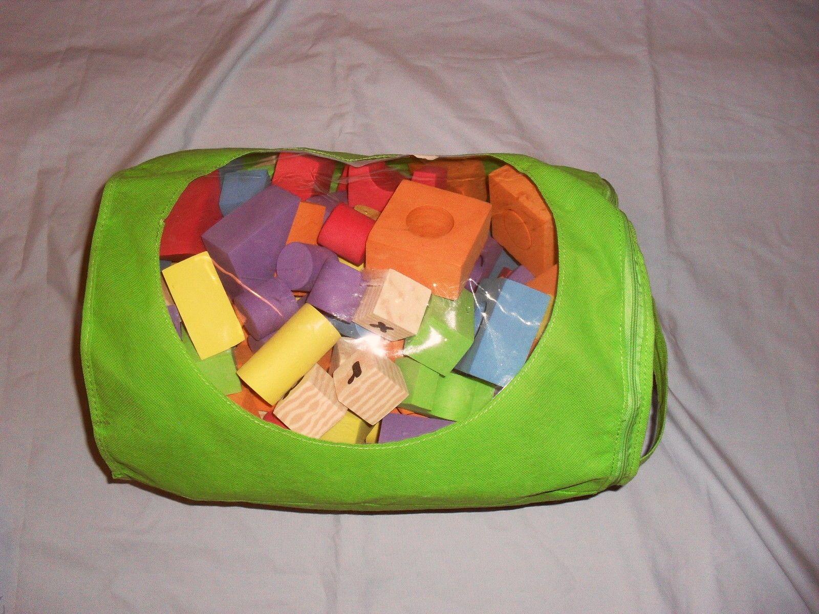Foam Building Blocks In Bag With