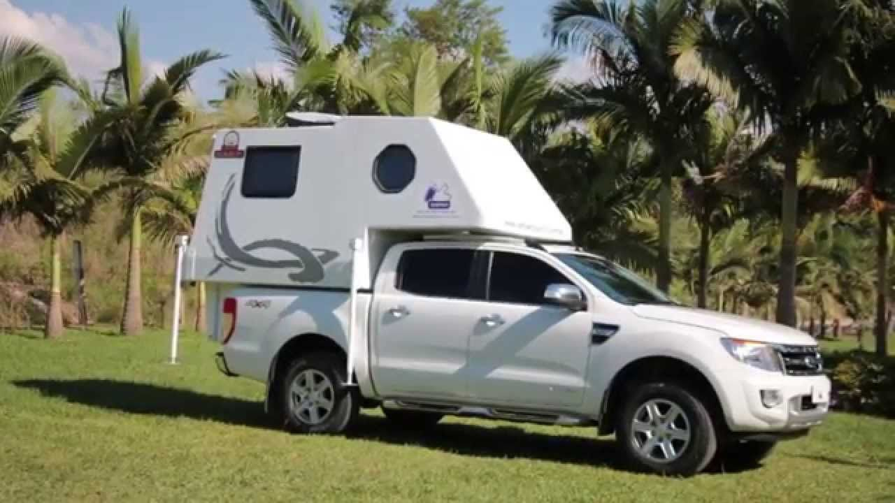 Mini Camper Duaron Super Luxo With Images Mini Camper Pickup