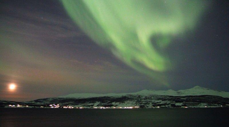 Auroras boreales desde Balsfjord, Noruega | El Universo Hoy
