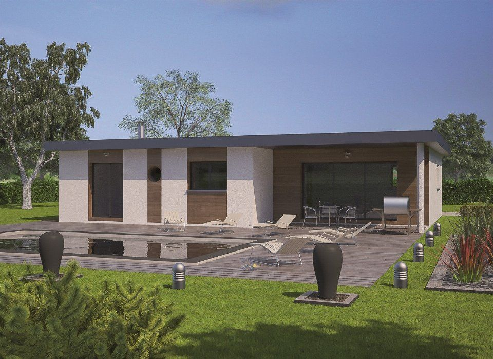 Plan achat maison neuve à construire - Maisons France Confort Eco-Concept 100 | Maison france ...