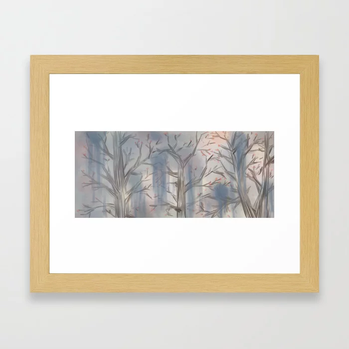 Dream Of Spring To Come Framed Art Print By Draloreshimare Society6 Framed Art Prints Framed Art Art Prints