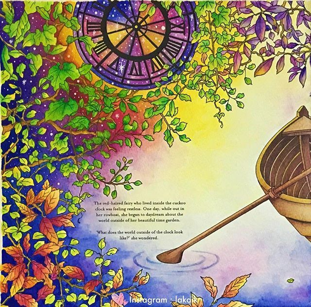 The Time Chamber Derwent Inktense Blocks 72 Coloringbookforadult Coloring