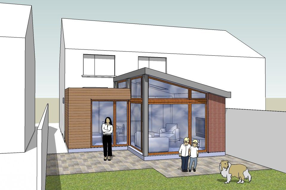 Extension Ideas For Semi Detached Houses Google Search Ideeen House Extensions Room Extensions Garden Room Extensions