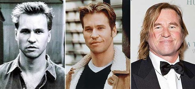 Hollywood Stars - Then Now