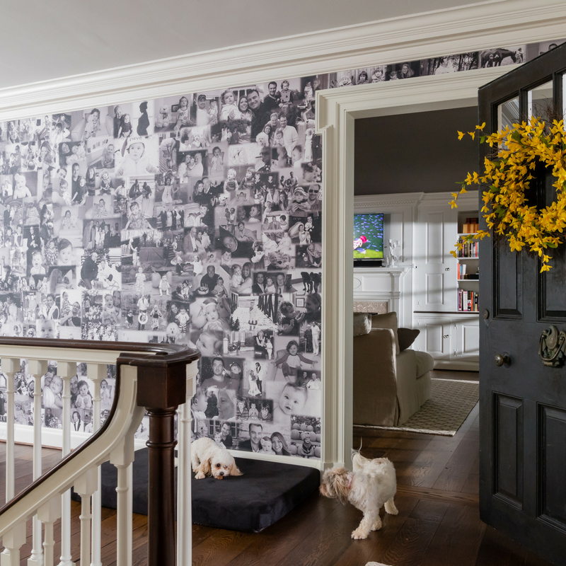 Photo Wallpaper . wallcovering . Make your own collage